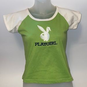 "Playboy ""Play Girl"" y2k Tee"